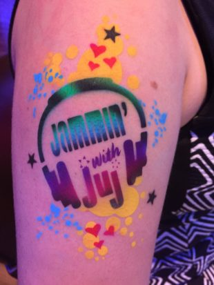 rock your body art chicago area face painting henna airbrush tattoos body painting chicago