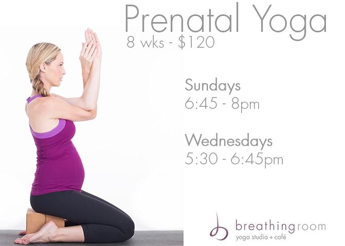Prenatal Days + Times