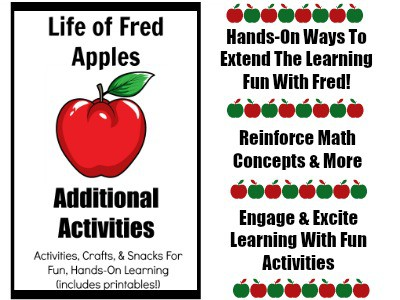 Life Of Fred Apples Additional Activities Is Full Hands On Ways To Reinforce Math