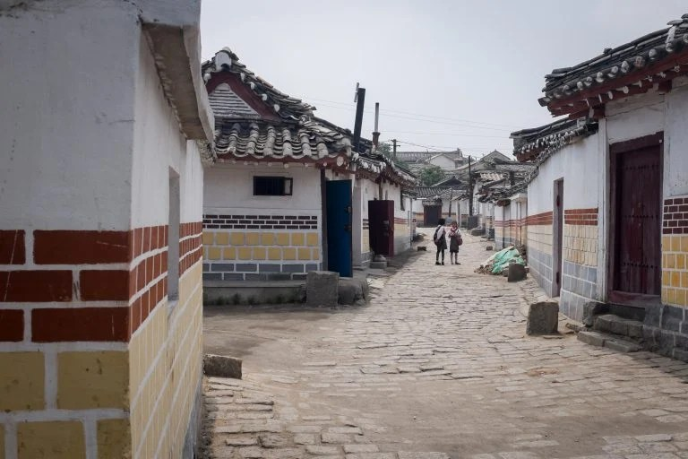 Old Korean town, North Korea