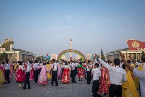 Central Pyongyang Mass Dance