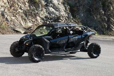 black Can-Am Maverick X3