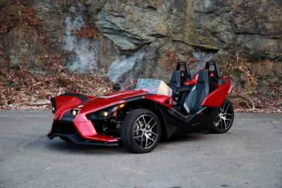red and black polaris slingshot