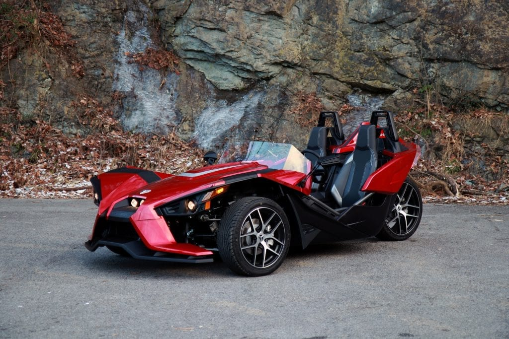 red polaris slingshot