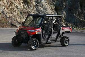 Red Polaris Ranger