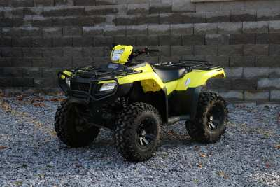 YELLOW ATV SIDE
