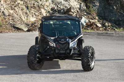 silver Can-Am Maverick X3