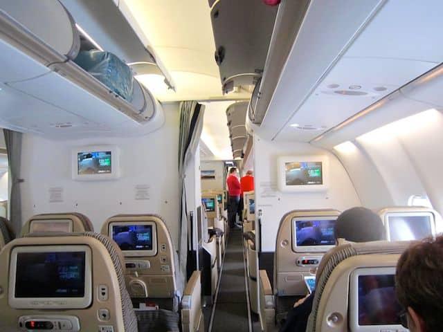 Flying Etihad Economy Class To Australia