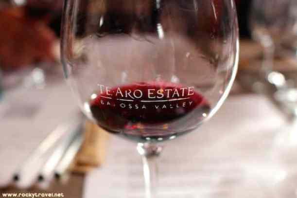 Wine Tasting at TeAro Winery