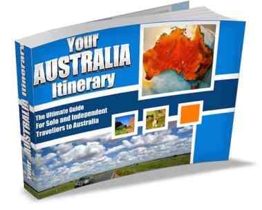 Ausrtralia Solo Travel Book Cover copy