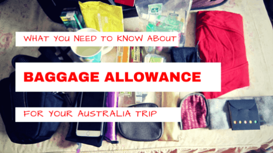 Baggage Allowance Australia