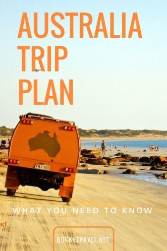 Australia Trip Plan Guide