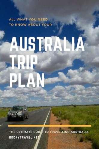 Your Australia Trip Plan