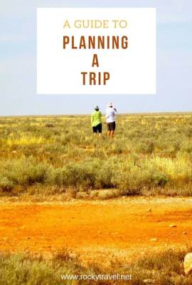 A Guide to Planning a Trip Pinterest Photo
