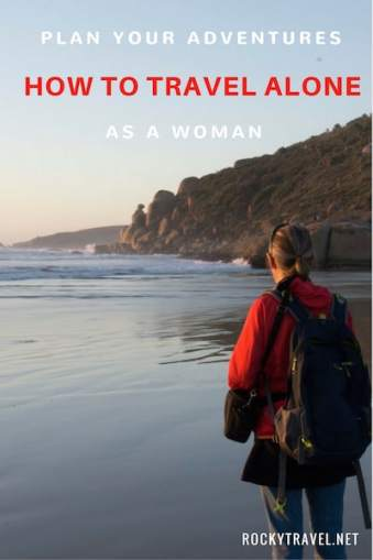 How to travel alone as a Woman in your fifties
