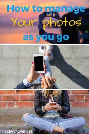 How to manage your photos on iphone as you go