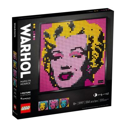 Rocobricks. LEGO UCS. Set de LEGO de coleccionista. Andy Warhol