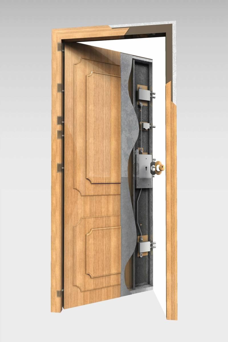 Puerta acorazada 200 roconsa for Precio puertas blindadas exterior