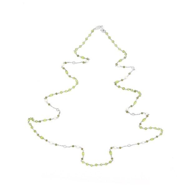 collana-fatta-a-mano-in-Peridoto-naturale-verde-bianco-mimosa