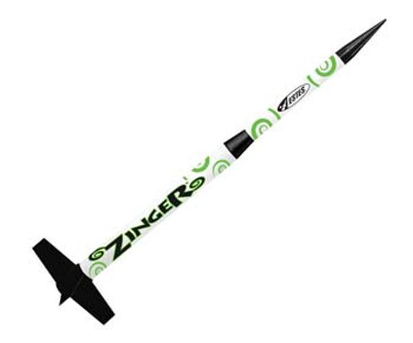 Estes Rockets 2433 Zinger Mini Kit E2X Easy-to-Assemble