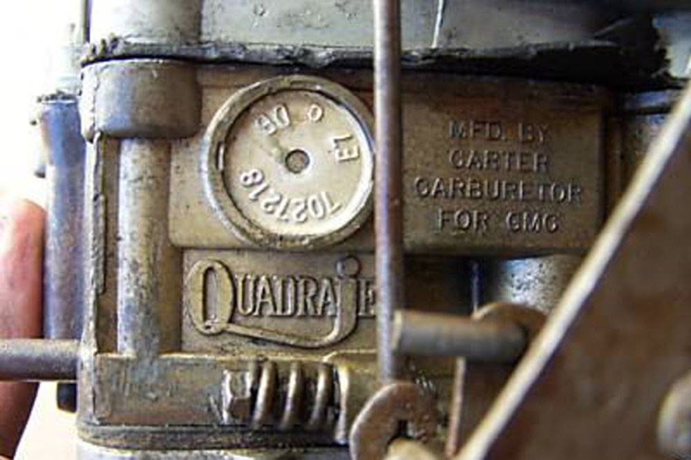 medium resolution of carburetors built before mid 1968 have a tag with the part number in late 1968 the seven digit part number was stamped vertically into the main housing