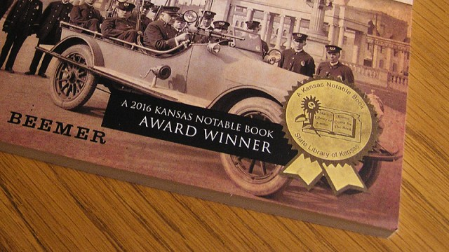 Publisher acknowledges Kansas Notable Book Award with new cover