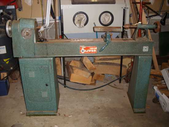 wood lathe used
