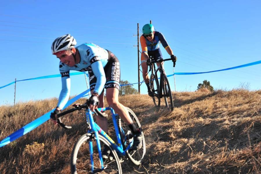 Colorado Cyclocross Champioships. M40 Cat 3. Wet Bear Photo