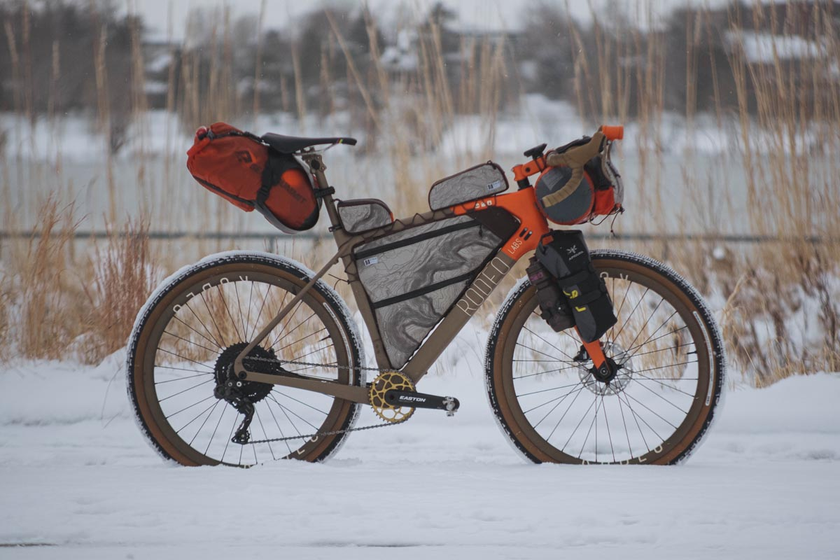 Atlas Mountain Race Traildonkey 3.0 bikepacking setup