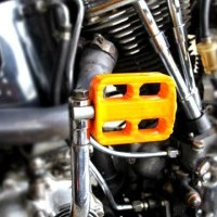 シカゴ モーターサイクルサプライ ハードプラスティックキックペダル