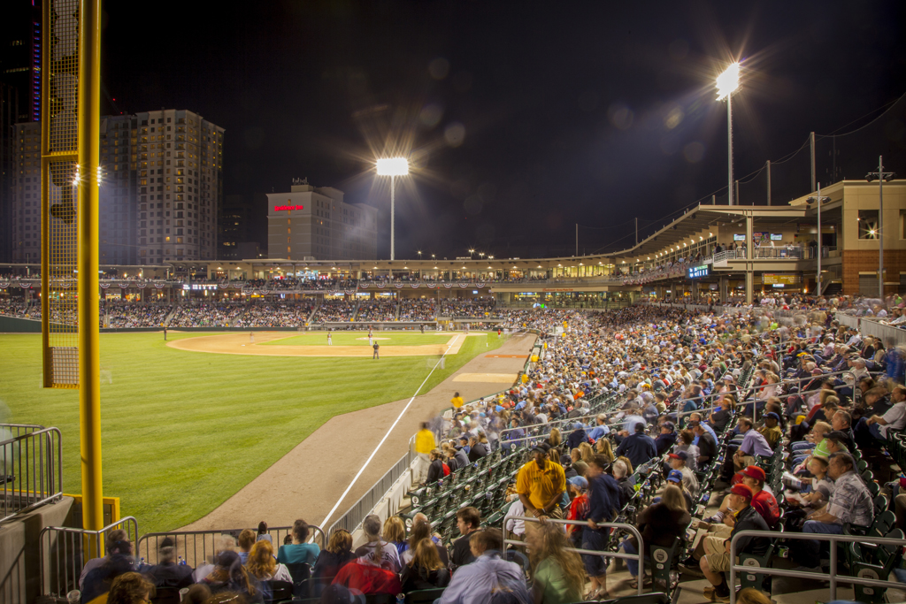 Charlotte Knights play opening game at BBT Ballpark