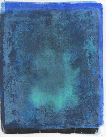 Blue Spirit Monotype