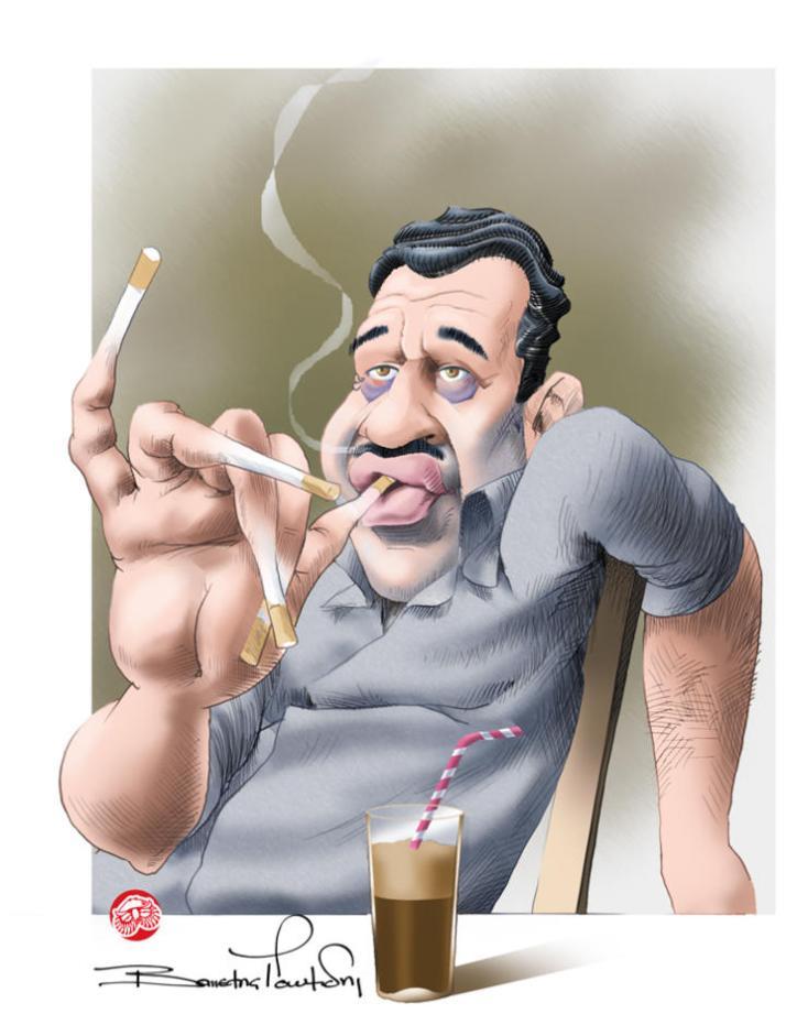 O πρωτοπόρος καπνιστής   Η ΡΟΔΙΑΚΗ