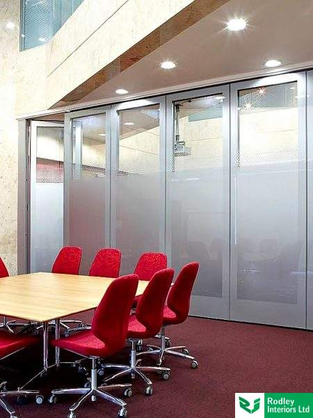 Movable walls room dividers and operable office screens