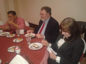 Lunch with South American pastors