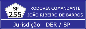 Rodovia Comandante João Ribeiro de Barros SP 255