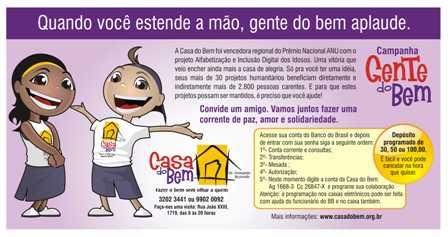 Campanha_tem_dois_personagens_e_ensina_como_transferir_recursos_para_Casa_do_Bem