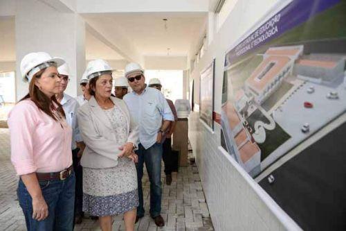 Obra-do-Centro-Estadual-de-Educao-Profissional-e-Tecnolgica-do-Pitimbu-chega-a-80