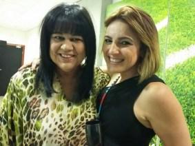 F3 A magistrada Sandra Elali e a coleguinha Erica Neve.