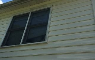 Picture of Pressure Washing siding in House