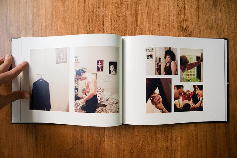 Foto libro preparación del novio