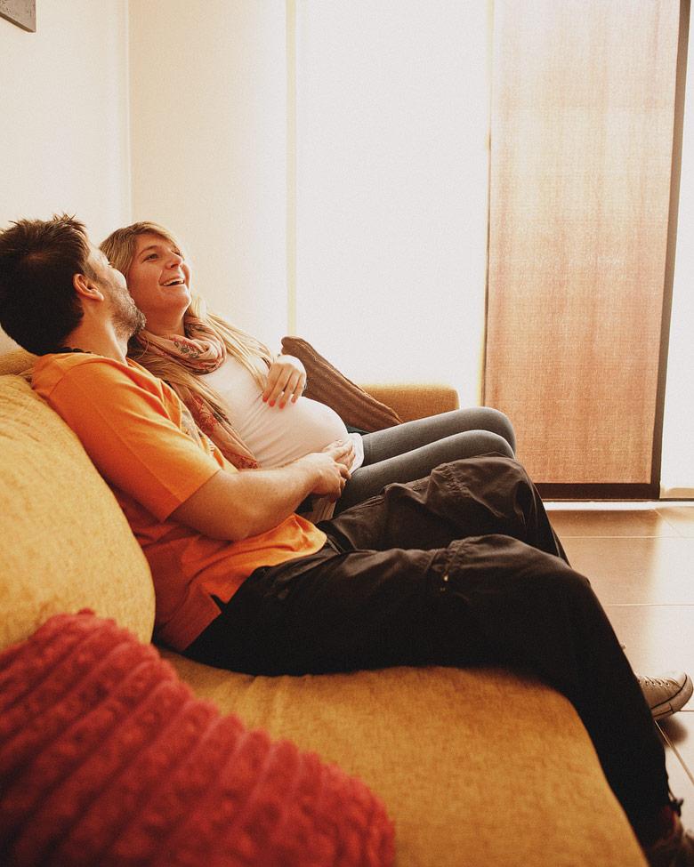 Sesion de embarazo de Juan y Sol