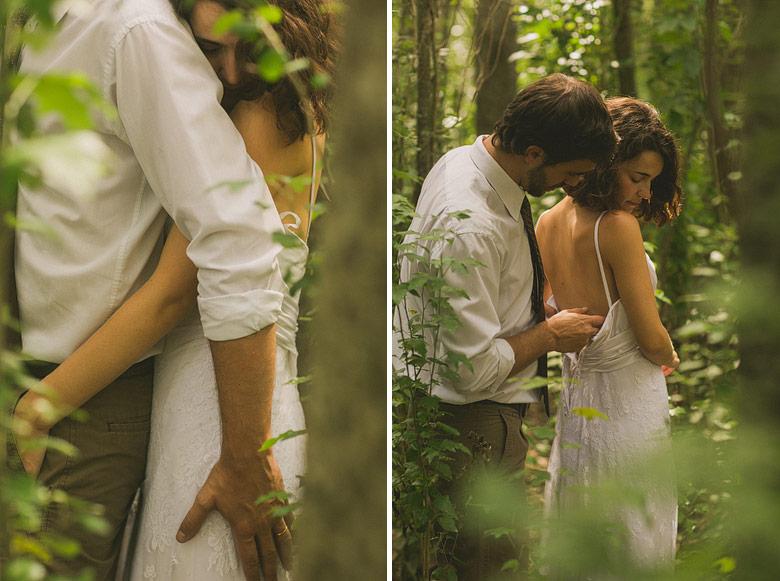 Fotografia erotica de casamiento