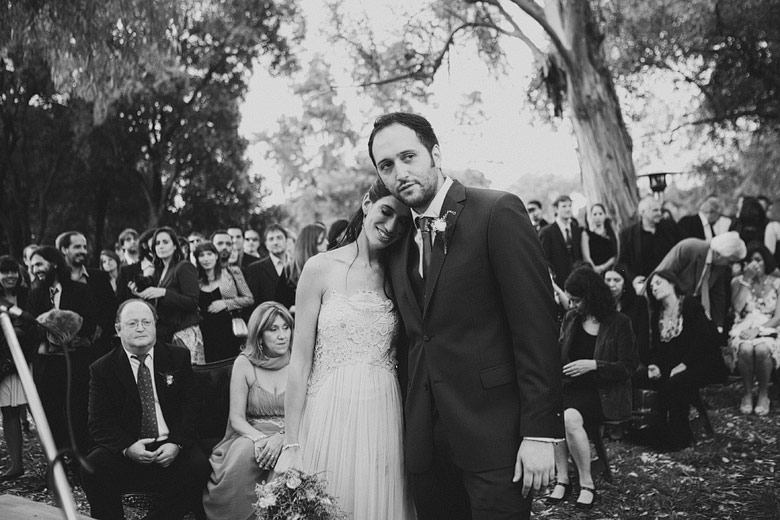 Casamiento diurno en Estancia Carabassa
