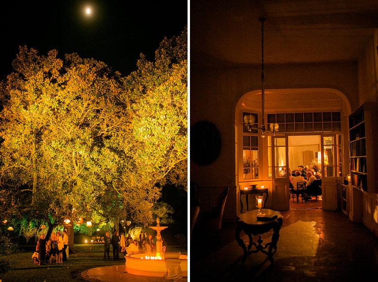 Casamiento nocturno en Estancia Carabassa, Pilar