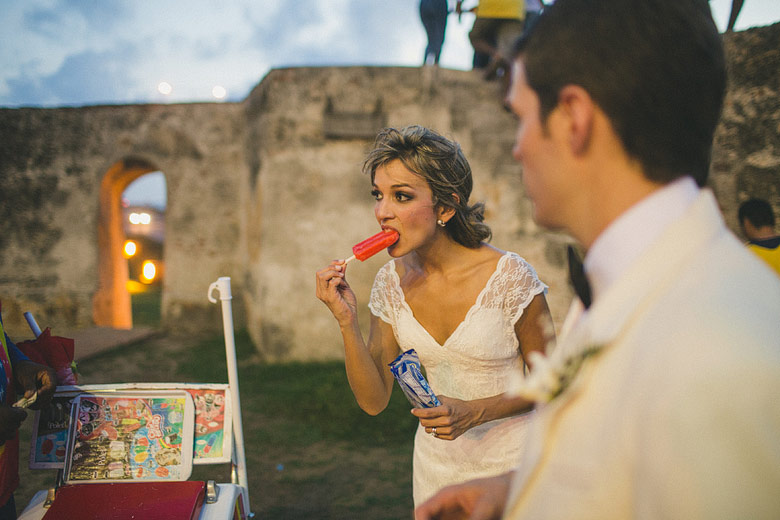 Candid wedding photography in the walled city of Cartagena, Colombia