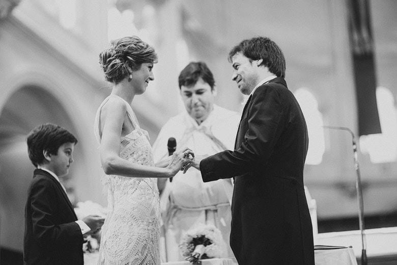 Fotografia de matrimonio en iglesia