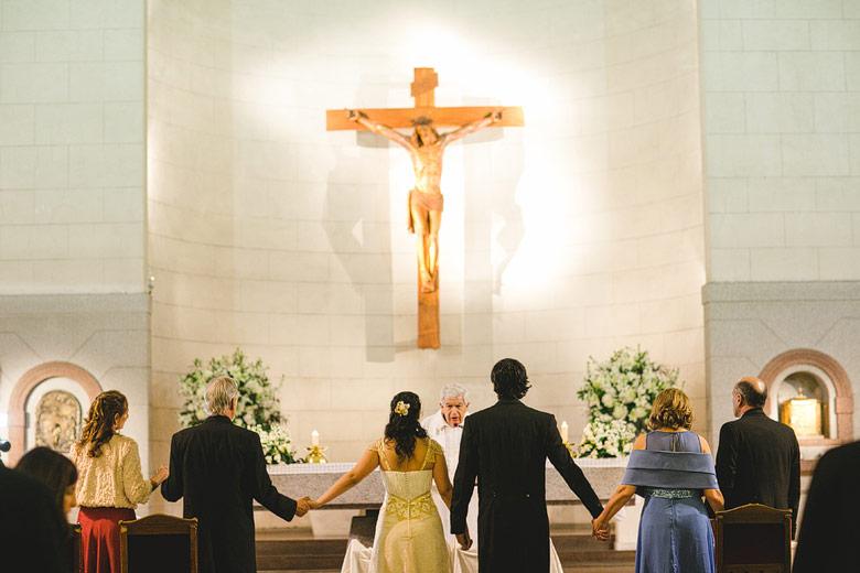 Casamiento en la Parroquia Santa Elena