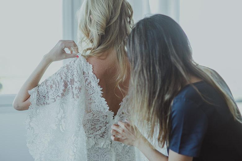 vestido de novia Claudia Oyhandy