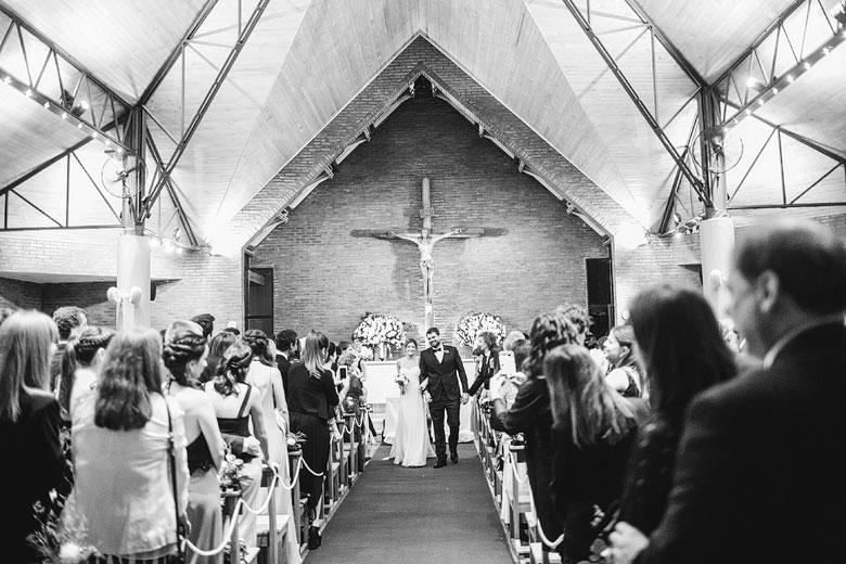 ceremonia en Iglesia Nuestra Señora de la Merced